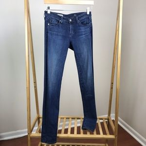 AG Jeans • The Stevie Slim Straight Jeans Size 25